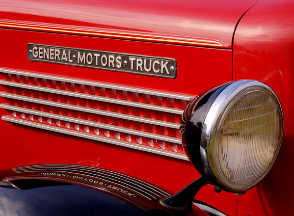 General Motors Truck Poster featuring the photograph General Motors Truck by Thomas Young