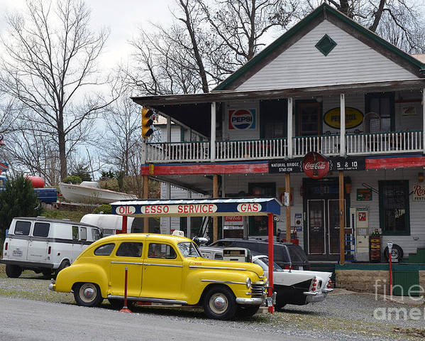 Natural Bridge Station Poster featuring the photograph General Store by Brenda Dorman