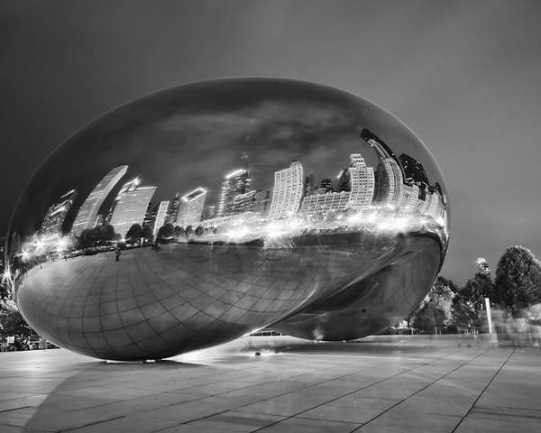 3scape Photos Poster featuring the photograph Ghosts In The Bean by Adam Romanowicz