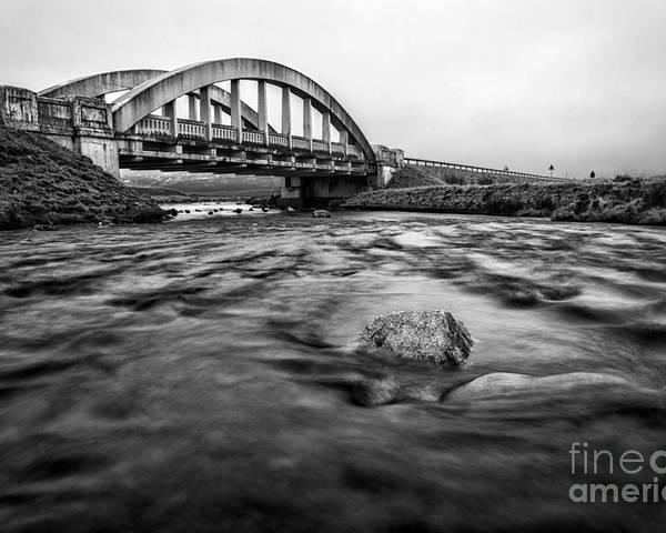 Beautiful Scotland Poster featuring the photograph Glen Coe Bridge by John Farnan