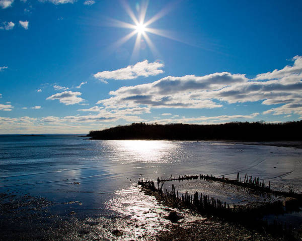 Maine Poster featuring the photograph Glen Cove Maine by Melanie Leo
