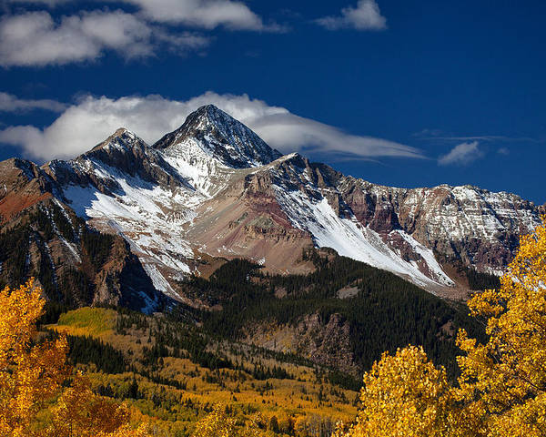 Colorado Landscapes Poster featuring the photograph Golden Afternoon by Darren White