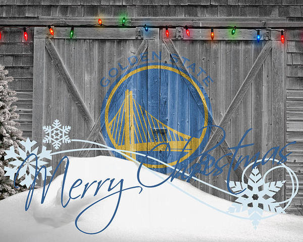Warriors Poster featuring the photograph Golden State Warriors by Joe Hamilton