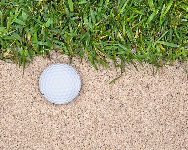 Golf Poster featuring the photograph Golf Ball by Joe Belanger