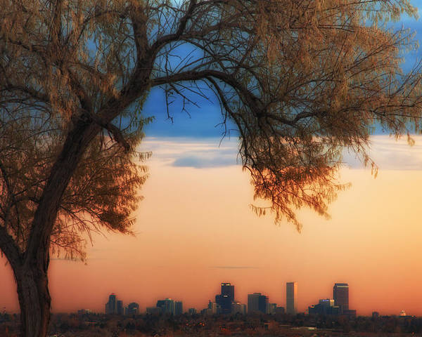 Denver Poster featuring the photograph Good Morning Denver by Darren White