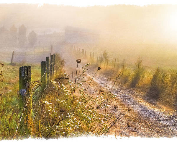 Appalachia Poster featuring the photograph Good Morning Farm by Debra and Dave Vanderlaan
