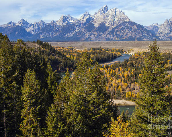 Grand Teton National Park Poster featuring the photograph Grand Tetons by Bob Phillips