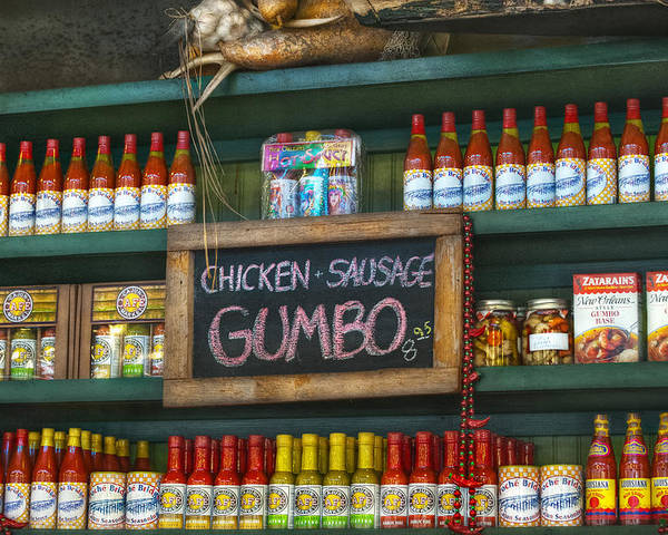 French Market Poster featuring the photograph Gumbo by Brenda Bryant