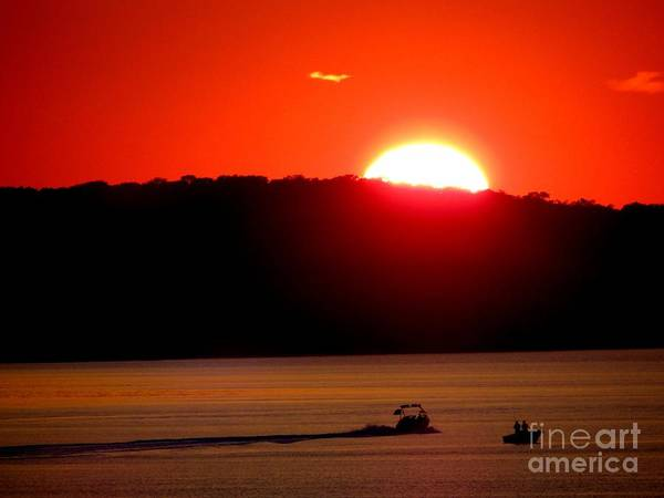 Sunset Poster featuring the photograph Hamptons Sunset by Ed Weidman