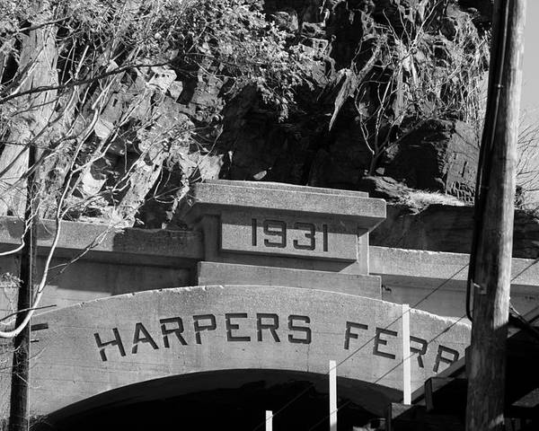 Harpers Ferry Poster featuring the photograph Harpers Ferry by Andrew Romer