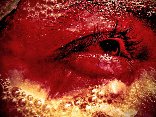 Eyes Poster featuring the photograph Heat by Beto Machado