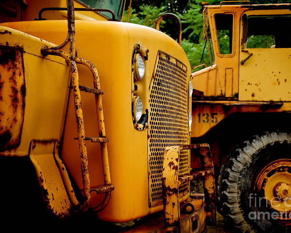 Bulldozer Poster featuring the photograph Heavy Equipment by Amy Cicconi