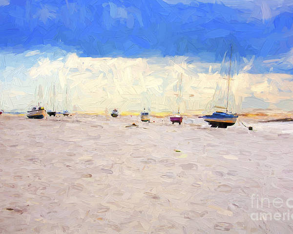 Yachts Poster featuring the photograph High and dry by Sheila Smart Fine Art Photography