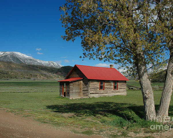 Colorado Poster featuring the photograph High Lonesome Ranch by Jerry McElroy
