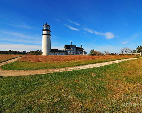 Cape Cod Poster featuring the photograph Highland Point Light by Catherine Reusch Daley
