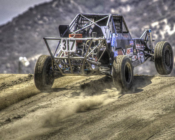 Off Road Poster featuring the photograph Hills Have Eyes by Chris Sarenana