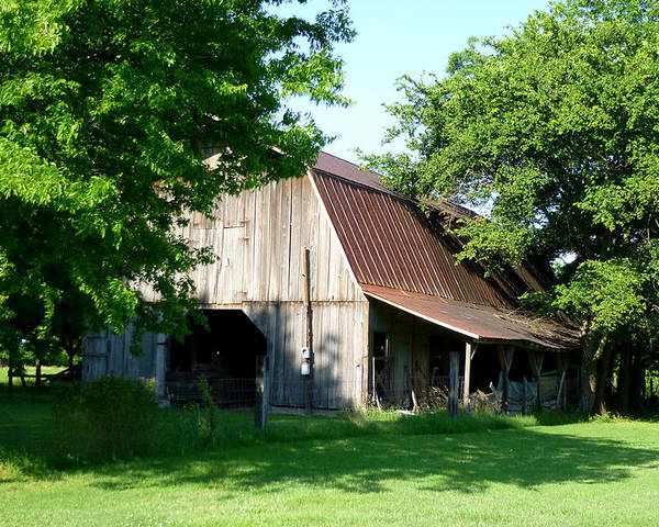 Building Poster featuring the photograph Historic Barn by Kay Sparks