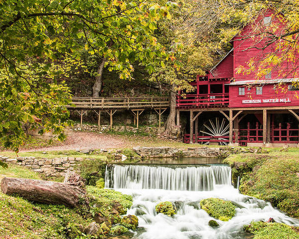 Steven Bateson Poster featuring the photograph Hodgson Mill by Steven Bateson