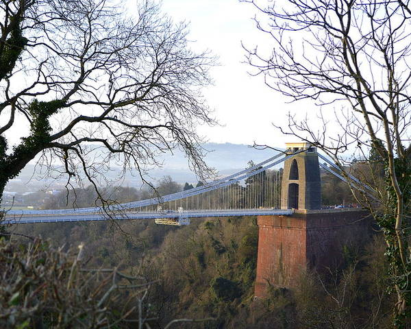 Clifton Suspension Bridge Poster featuring the photograph Homage To Isambard by Bishopston Fine Art