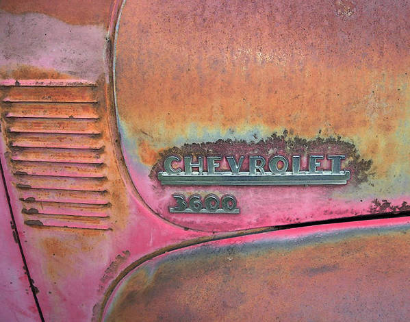Chevrolet Poster featuring the photograph Homestead Chev by Jerry McElroy