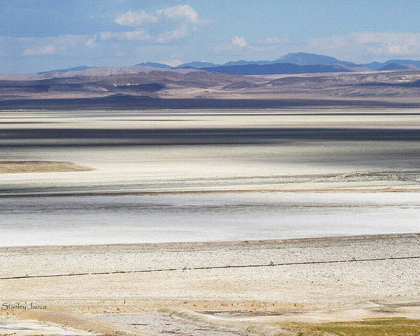 Honey Lake California Poster featuring the photograph Honey Lake California by Tom Janca