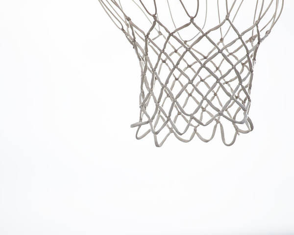 Basketball Poster featuring the photograph Hoops by Karol Livote