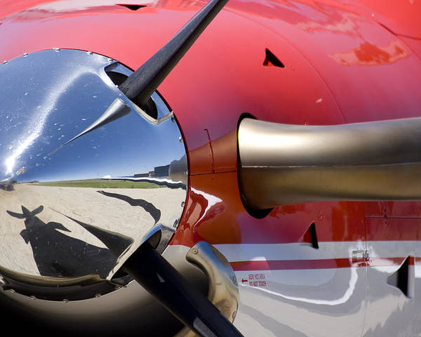 Pilatus Pc 12 Golden Eagle Poster featuring the photograph Horsepower by Paul Job