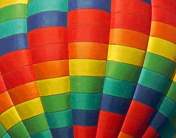 Balloons Poster featuring the photograph Hot Air Balloon Painterly by Ernie Echols