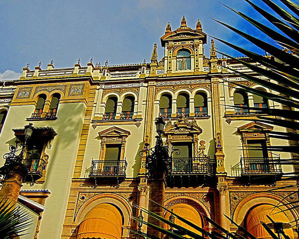 Europa Poster featuring the photograph Hotel Alfonso Xiii - Seville by Juergen Weiss
