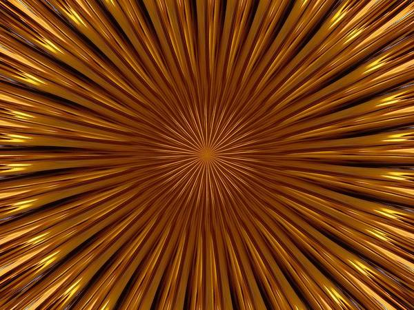 Fractal Poster featuring the photograph Hypnosis by David Dunham