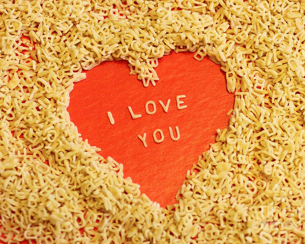 I Love You Poster featuring the photograph I Love You by Lars Ruecker