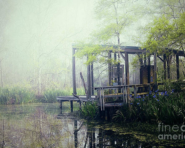 Bayou Poster featuring the photograph I'm Going Back Someday by Katya Horner