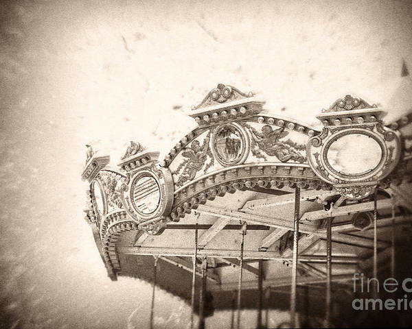 Boardwalk Poster featuring the photograph Impossible Dream by Trish Mistric