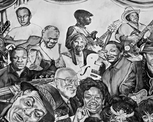 Nola Poster featuring the photograph In Praise Of Jazz V by Steve Harrington