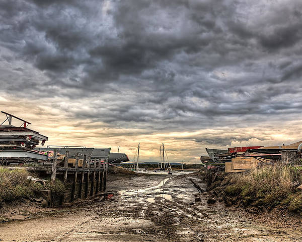 Poster featuring the photograph Itchenor Slipway by Graham Markham