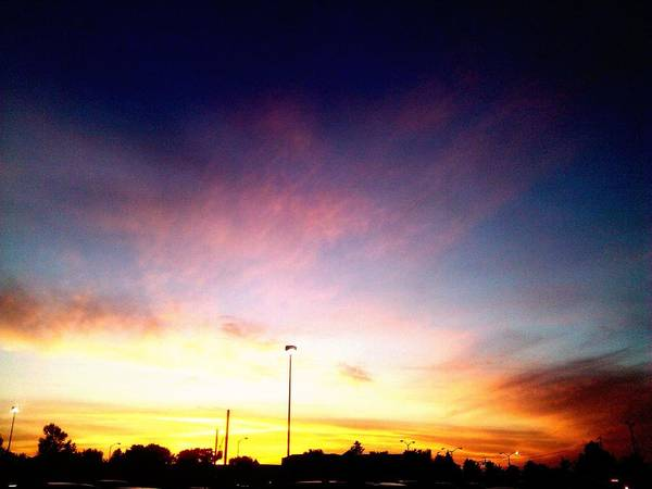 Sky Poster featuring the photograph Ithaca New York Sunset by Jo-Ann Hayden