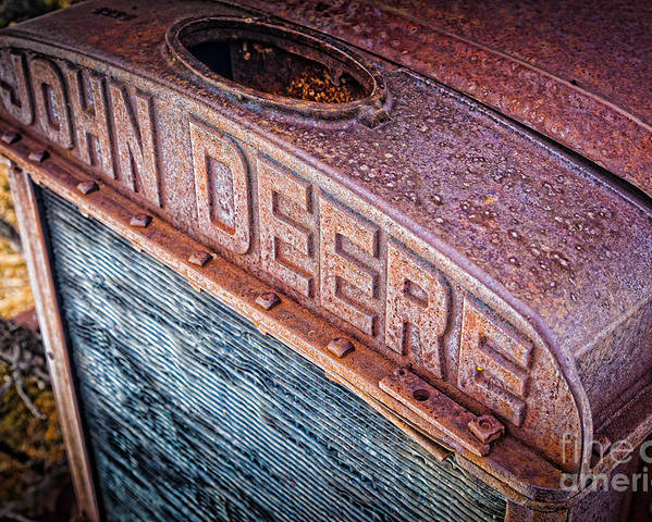 America Poster featuring the photograph Jd Grille by Inge Johnsson