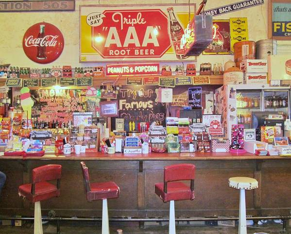Jefferson Texas Poster featuring the photograph Jefferson Texas General Store by Donna Wilson
