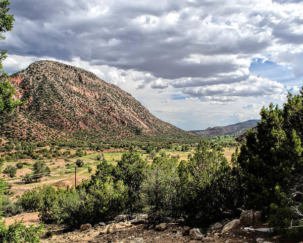 New Mexico Poster featuring the photograph Jemez Mountain Valley by Lonnie Wooten