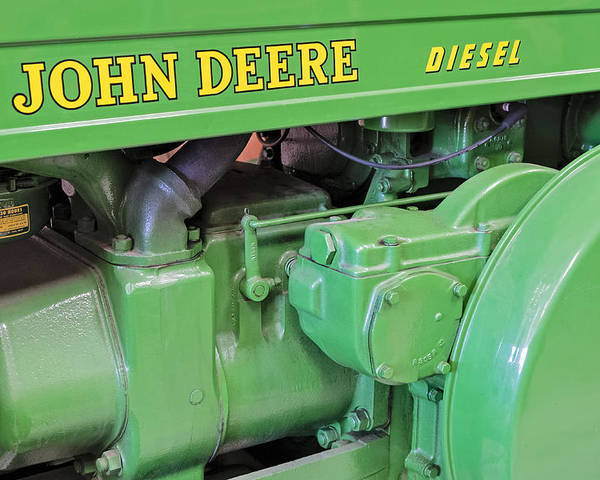 Diesel Poster featuring the photograph John Deere Diesel by Susan Candelario