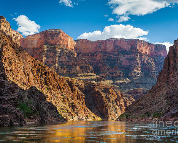 America Poster featuring the photograph Journey Through The Grand Canyon by Inge Johnsson