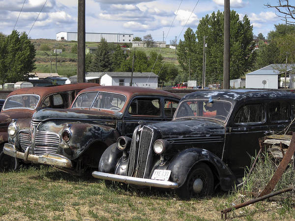 old Cars Poster featuring the photograph Junk Or Treasure by Daniel Hagerman