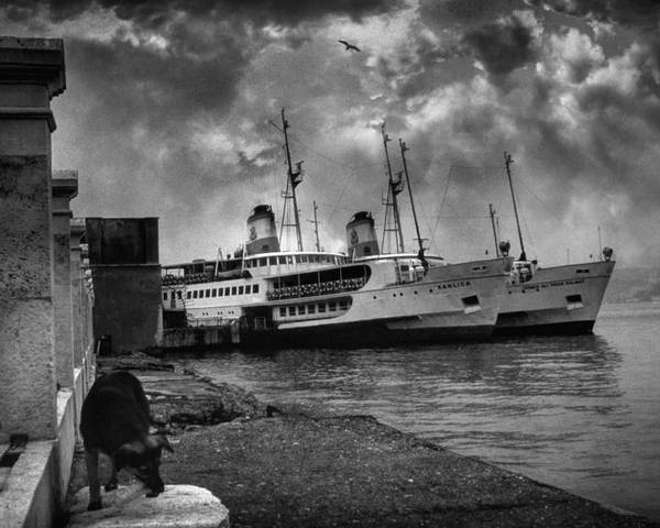 Seascape Poster featuring the photograph Kanlica by Taylan Apukovska