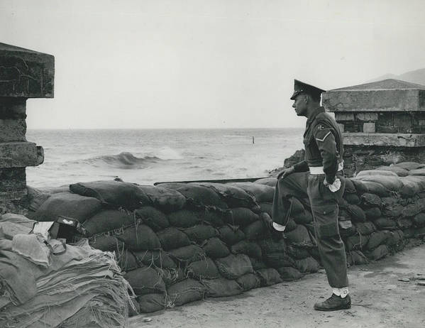 retro Images Archive Poster featuring the photograph Keeping Watch On The High Tides At Lyn Mouth by Retro Images Archive