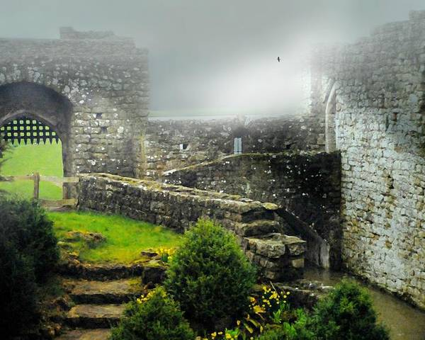 Leeds Castle Poster featuring the photograph Kent England by Diana Angstadt