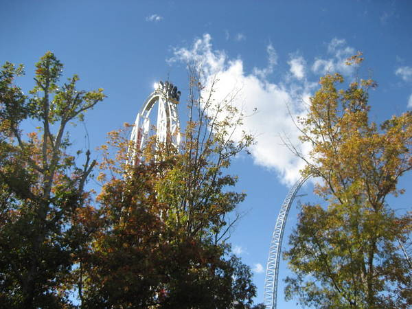 Kings Poster featuring the photograph Kings Dominion - Hypersonic Xlc - 12121 by DC Photographer