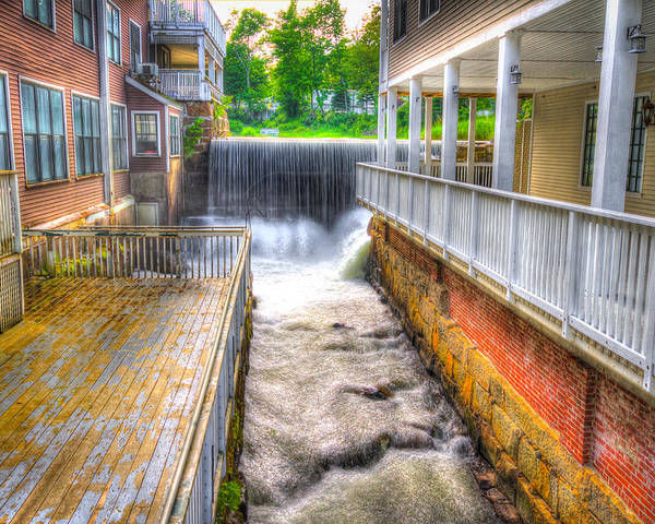 Maine Poster featuring the photograph Knox Mill by Kevin Kratka