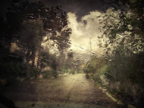 Rain Poster featuring the photograph La Pluie 4.45 by Taylan Apukovska