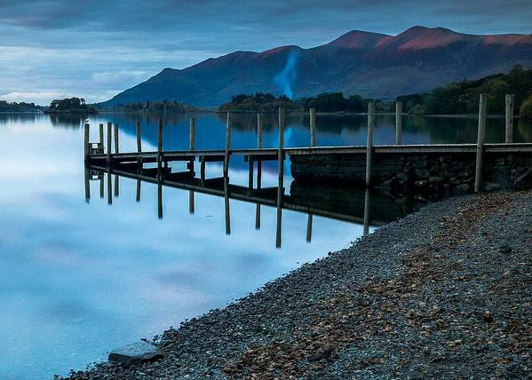 Poster featuring the photograph Lake District by Tomas Urban