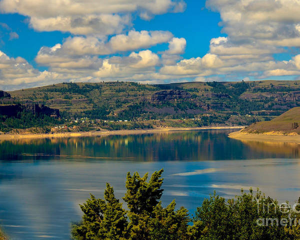 Lake Poster featuring the photograph Lake Roosevelt by Robert Bales